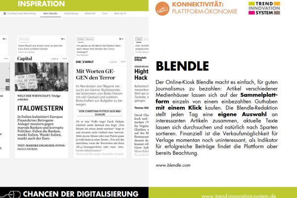 Blendle - der Online-Kiosk
