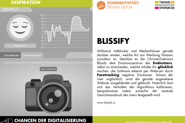 Blissify - der Sad-Blocker