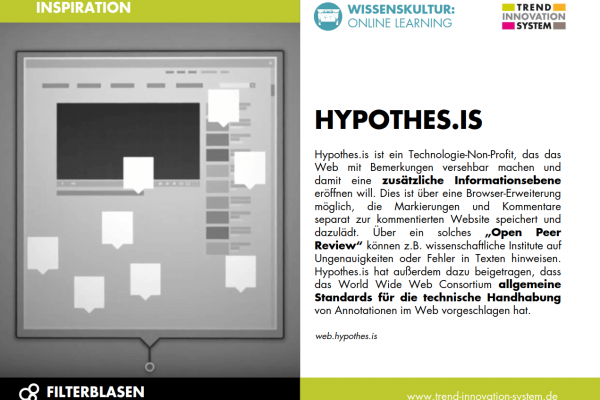 Hypothes.is - Randnotizen für das Internet