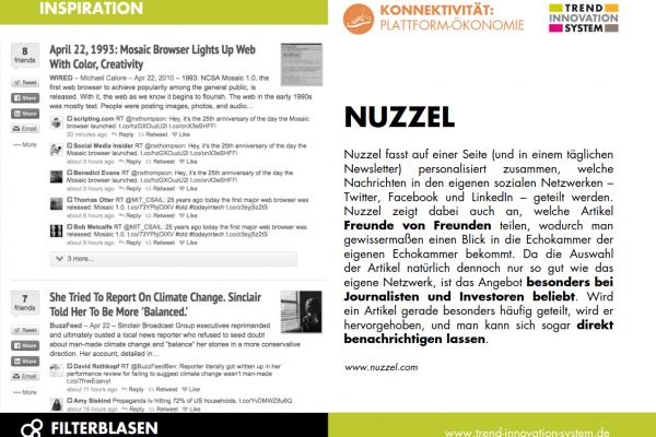 Nuzzel - News von Freunden von Freunden